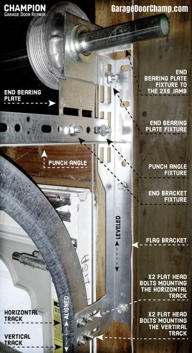 How To Install A Garage Door Champion Garage Door Repair